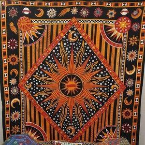 Giant Sun Star Tapestry